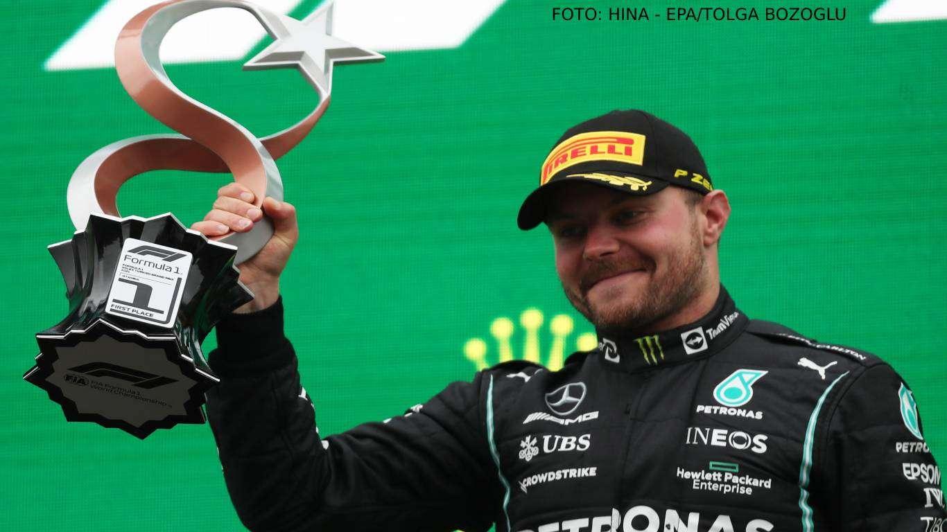 Bottasu pobjeda, Verstappenu ukupno vodstvo