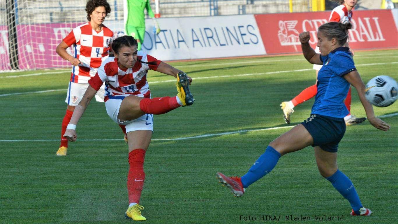 Težak poraz hrvatskih nogometašica